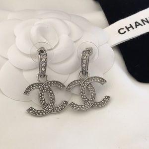 Cc logo earrings